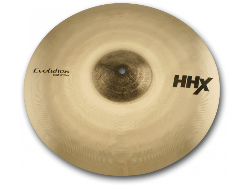 Crash Cymbal Sabian 11706XEB, HHX Serie, Evolution, 17""