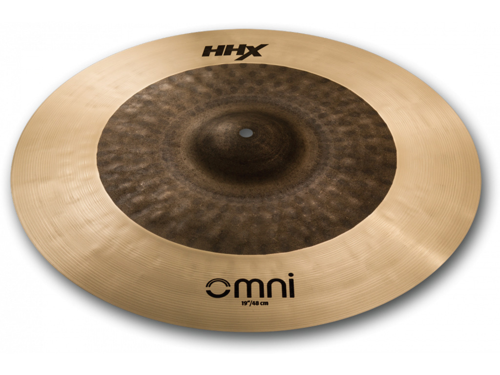 Ride Cymbal Sabian 119OMX, HHX Serie, OMNI, designed with Jojo Mayer, 19""