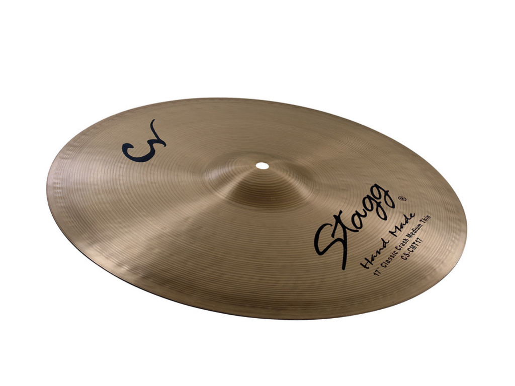 Crash Cymbal Stagg CS-CMT15, Classic Serie, Medium Thin, 15""