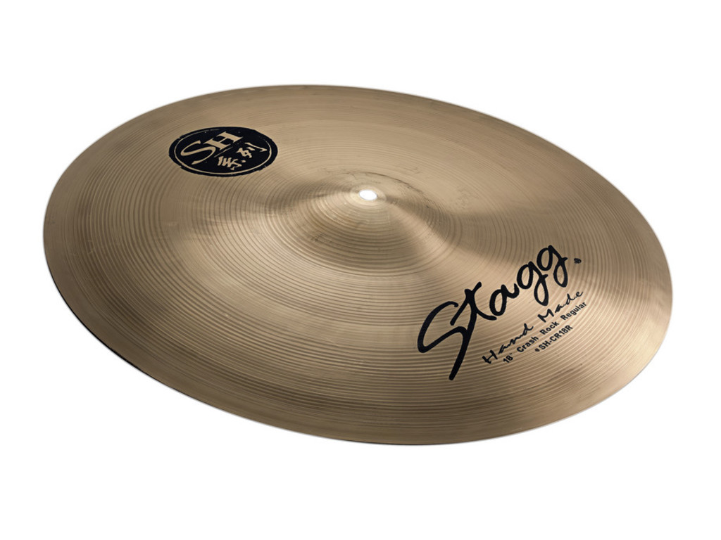 Crash Cymbal Stagg SH-CR18R, SH Serie, Regular Rock, 18""