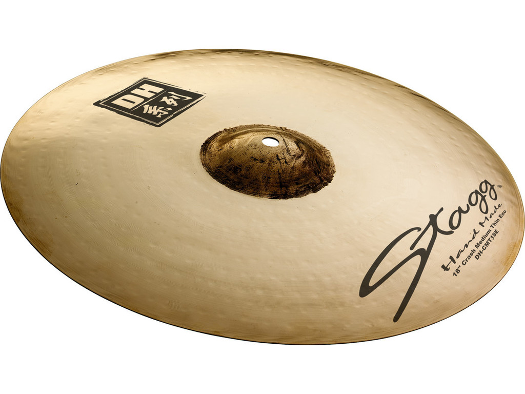 Crash Cymbal Stagg DH-CMT17E, DH Serie, Medium Thin EXO, 17""