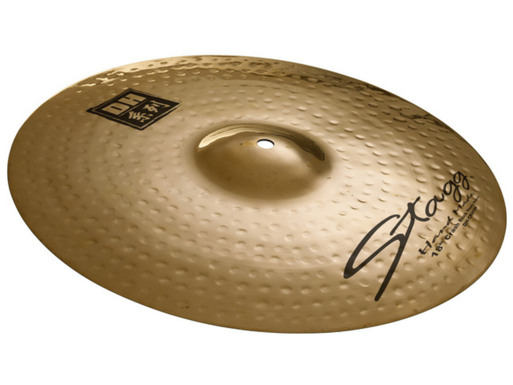 Crash Cymbal Stagg DH-CR18B, DH Serie, Brilliant Rock, 18""