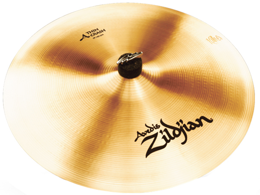 Crash Cymbal Zildjian A0224, A Zildjian, Thin Crash, 17""