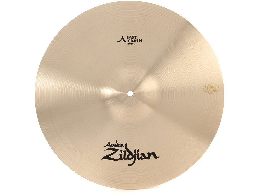Crash Cymbal Zildjian A0268, A Zildjian, Fast Crash, 18""