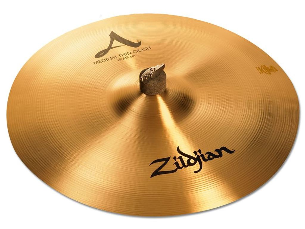Crash Cymbal Zildjian A0232, A Zildjian, Medium Thin Crash, 18""