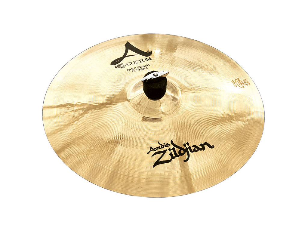 Crash Cymbal Zildjian A20531, A Custom, Fast Crash, 15""