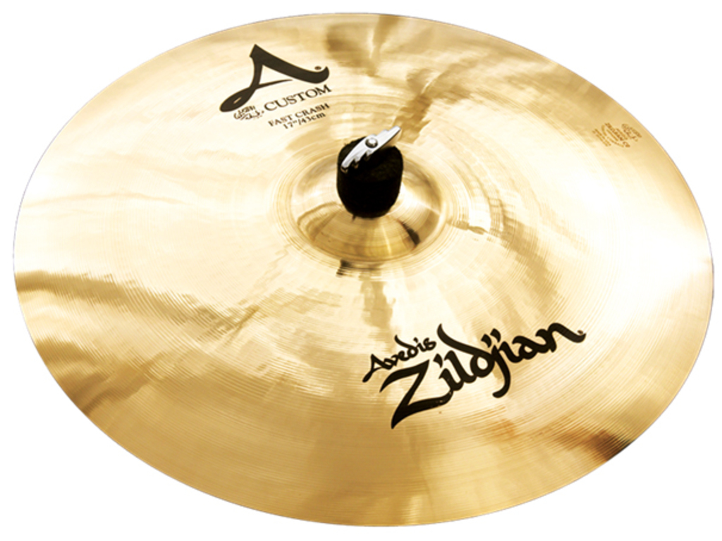 Crash Cymbal Zildjian A20533, A Custom, Fast Crash, 17""