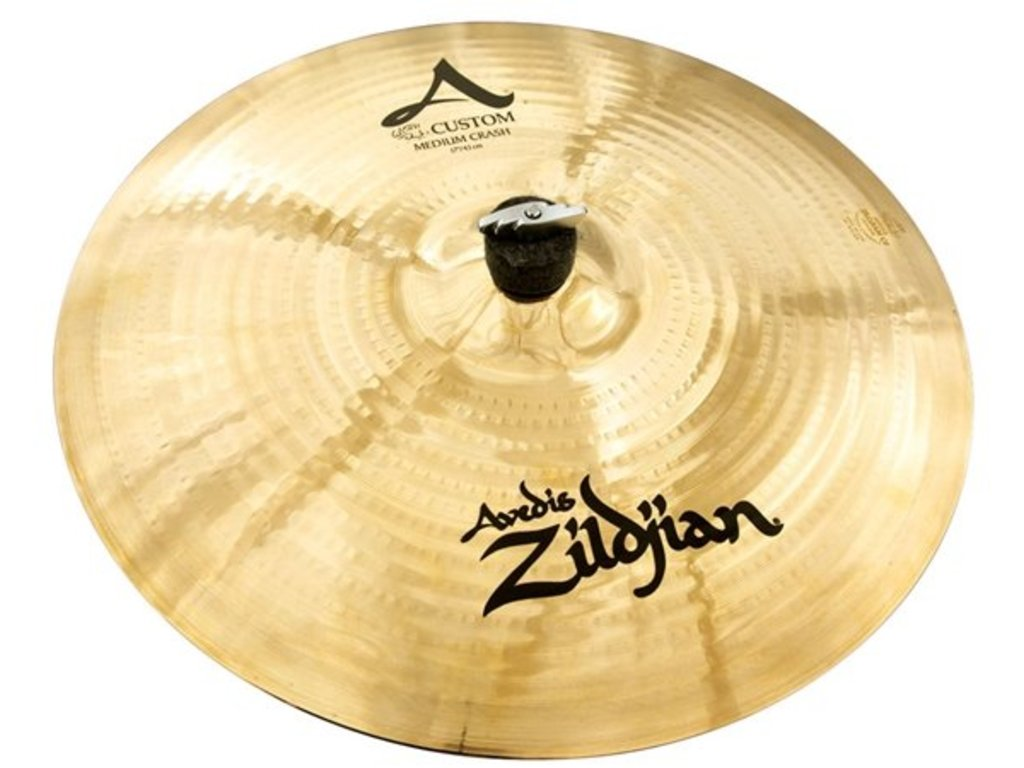 Crash Cymbal Zildjian A20827, A Custom, Medium Crash, 17""
