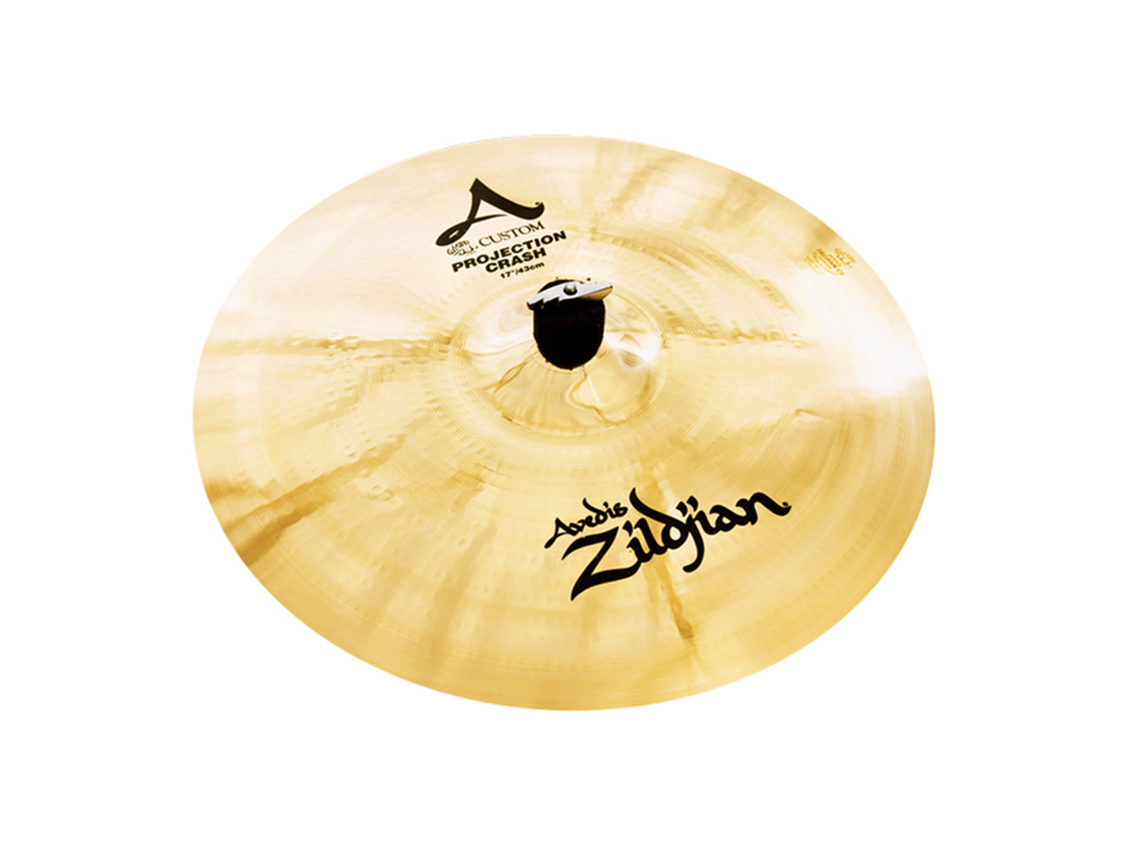 Crash Cymbal Zildjian A20583, A Custom, Projection Crash, 17""