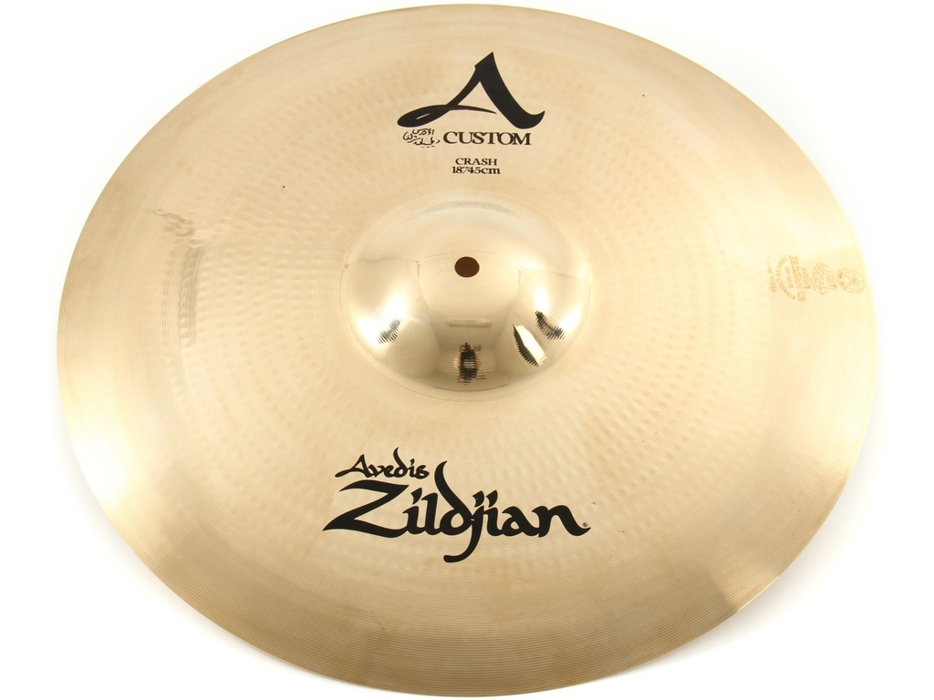 Crash Cymbal Zildjian A20516, A Custom, 18""