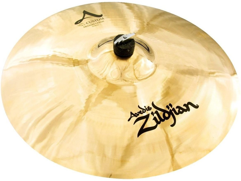 Crash Cymbal Zildjian A20829, A Custom, Medium Crash, 19""