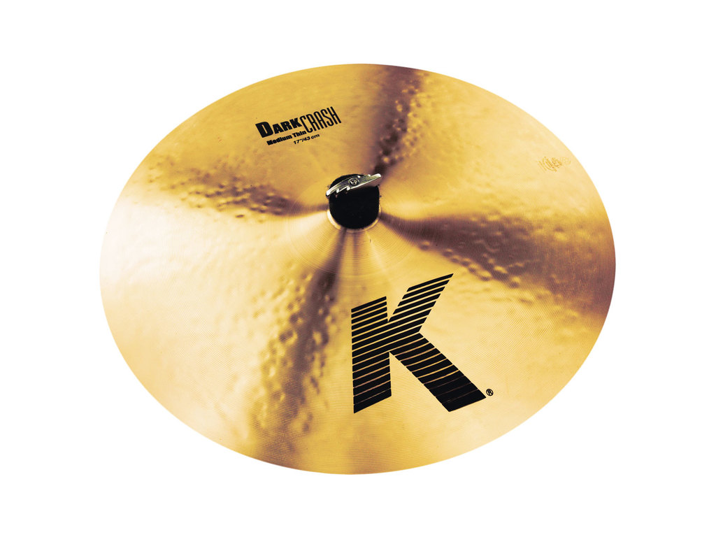 Crash Cymbal Zildjian K0914, K Dark Crash, Medium-Thin, 17""
