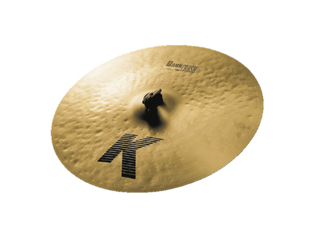 Crash Cymbal Zildjian K0903, K Dark, Crash Thin, 17""