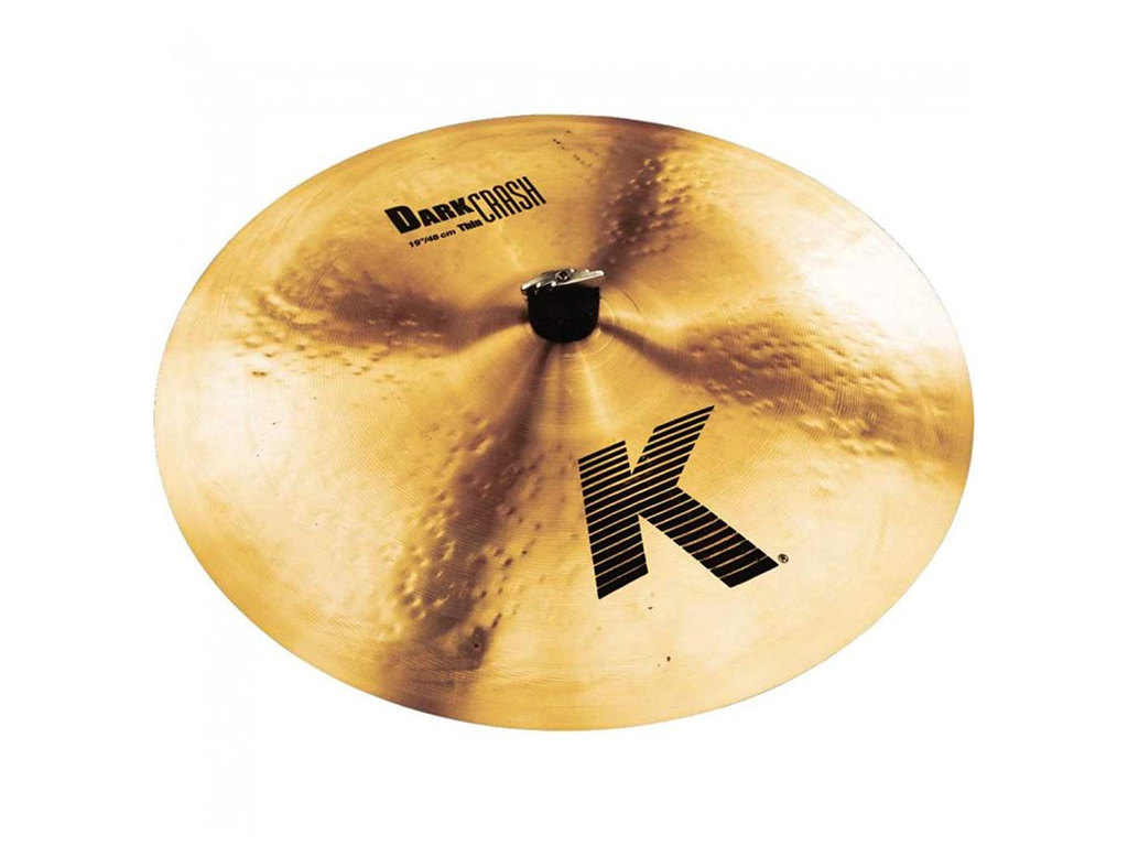Crash Cymbal Zildjian K0905, K Dark Crash Thin, 19""