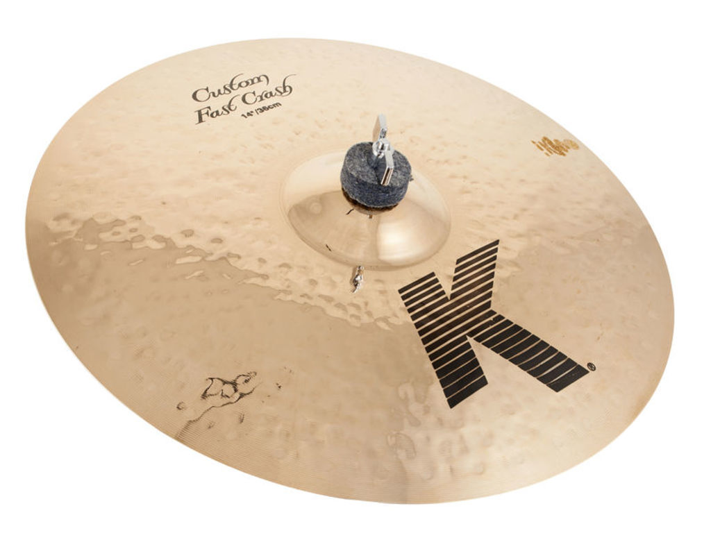 Crash Cymbal Zildjian K0980, K Custom, Fast Crash, 14""