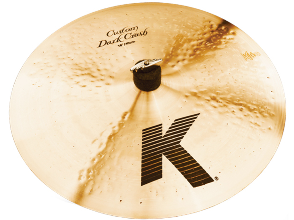 Crash Cymbal Zildjian K0951, K Custom, Dark Crash, 16""