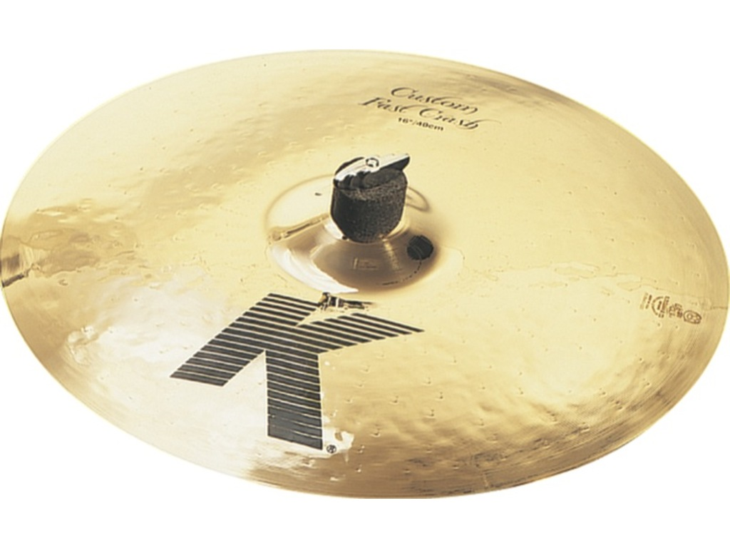 Crash Cymbal Zildjian K0982, K Custom, Fast Crash, 16""