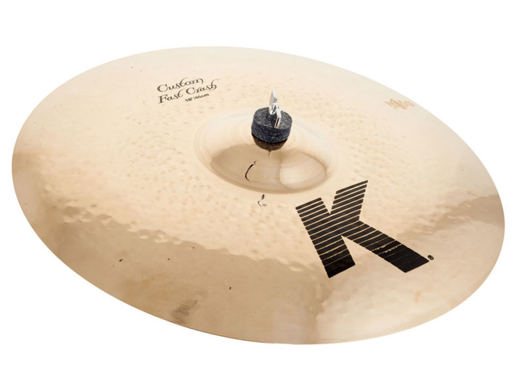 Crash Cymbal Zildjian K0984, K Custom, Fast Crash, 18""