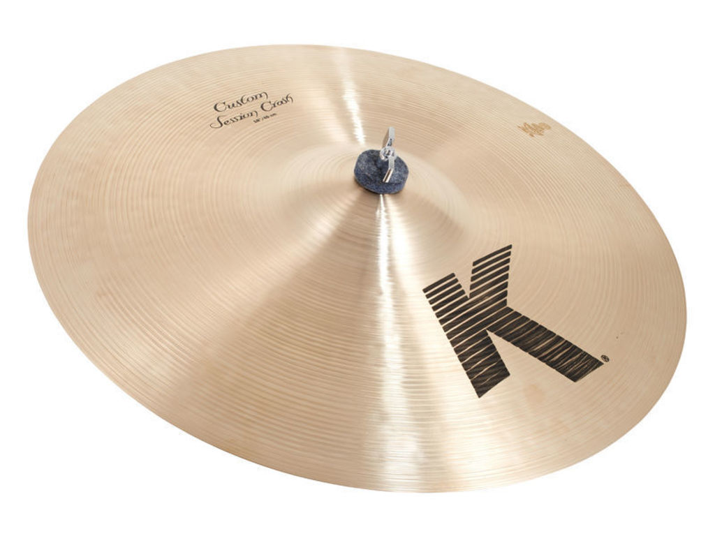 Crash Cymbal Zildjian K0991, K Custom, Session Crash, Designed with Steve Gadd, 18""