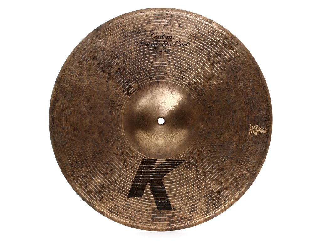 Crash Cymbal Zildjian K1419, K Custom, Special Dry Crash Naturel, 18""
