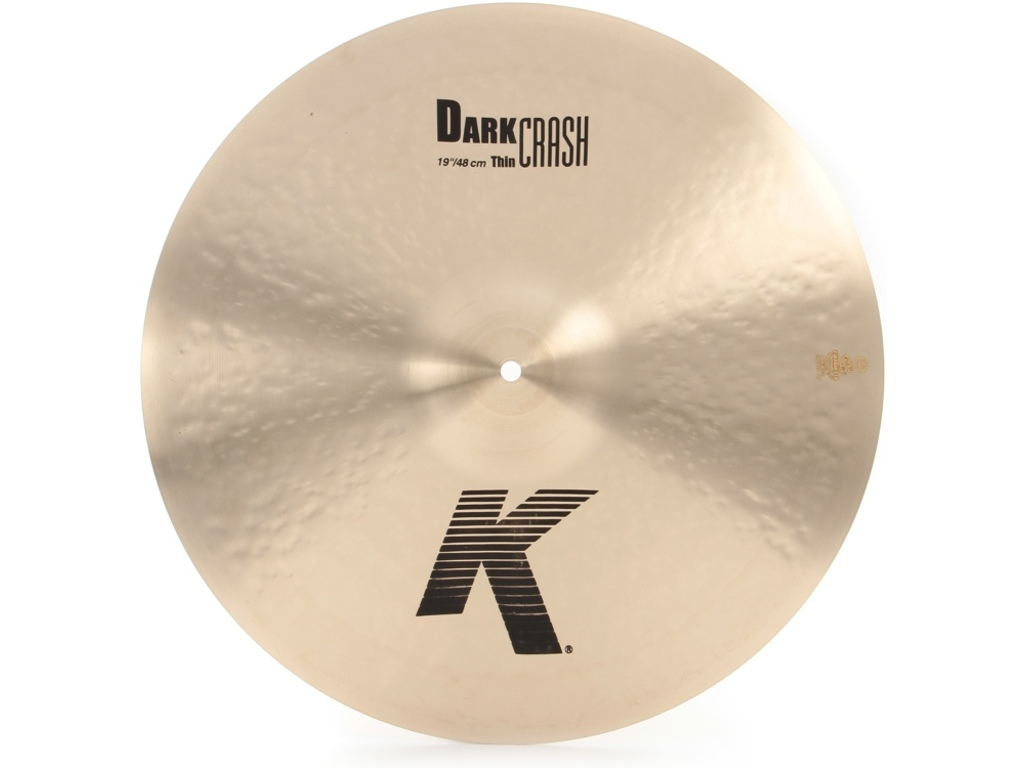Crash Cymbal Zildjian K0978, K Custom, Dark Crash, 19""