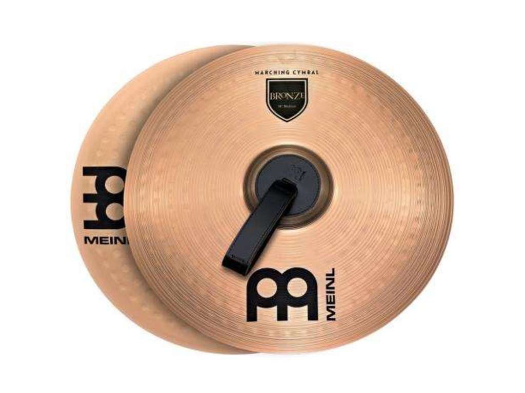 Mars Cymbal Meinl MA-BR-13M, Student Range Marching Serie, Brass 13""