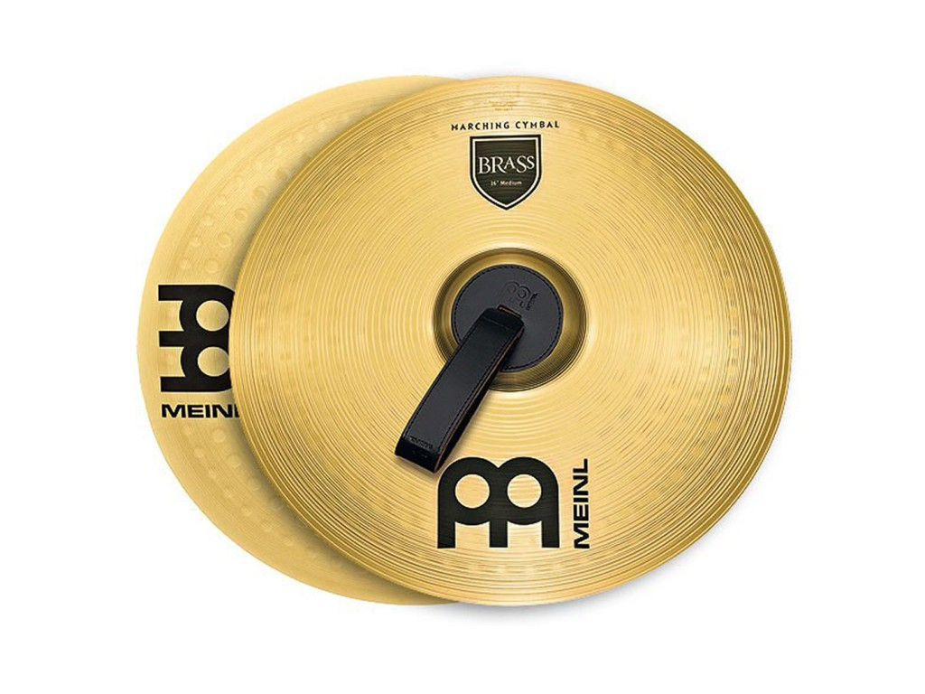Mars Cymbal Meinl MA-BR-14M, Student Range Marching Serie, Brass 14""