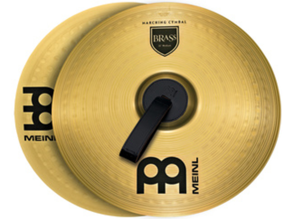 Mars Cymbal Meinl MA-BR-16M, Student Range Marching Serie, Brass 16""