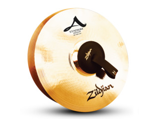 Marching Cymbal Zildjian A0468, Stadium Medium, 16