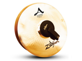 Marching Cymbal Zildjian A0495, Stadium Medium Heavy, 18