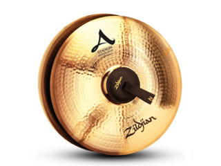 Marching Cymbal Zildjian A0497, Stadium Medium Heavy, 20