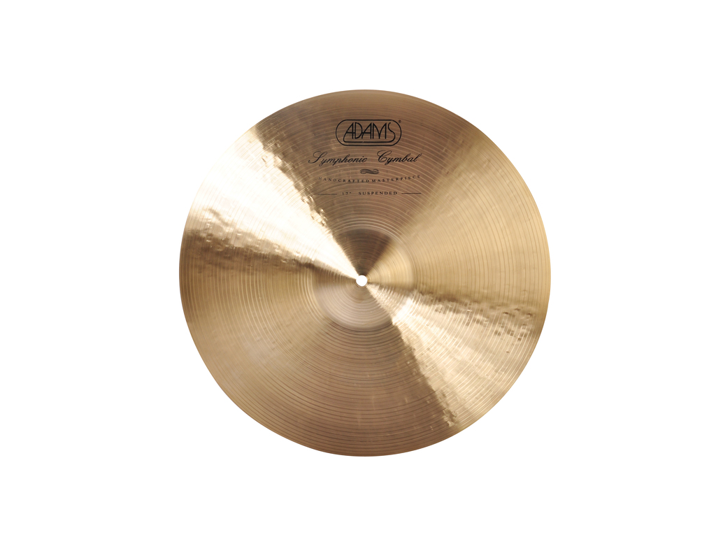 Orkest Cymbal Adams SY17TS,Symphonic, Thin, Suspended, 17""