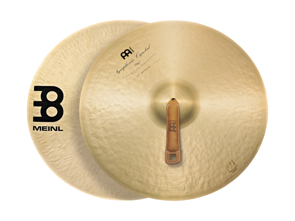 Orchestra Cymbal Meinl SY-18T, Symphonic series, Thin, 18""