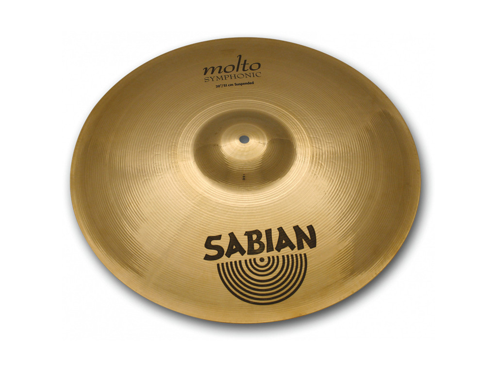 "Orkest Cymbal Sabian 21689, AA Serie, Molto Symphonic Suspended, 16"" (single)"