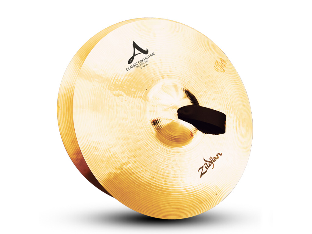 Orkest Cymbal Zildjian A0751, A Zildjian, Classic Orchestral Selection, Medium Light, 16""