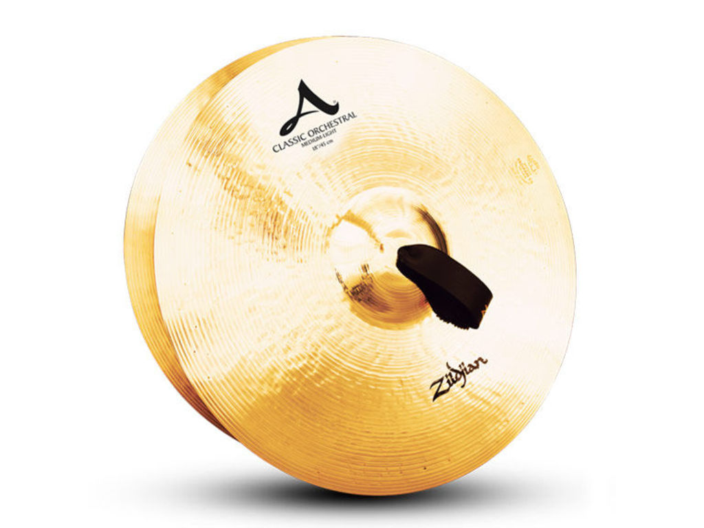 Orkest Cymbal Zildjian A0759, A Zildjian, Classic Orchestral Selection, Medium Light, 18""