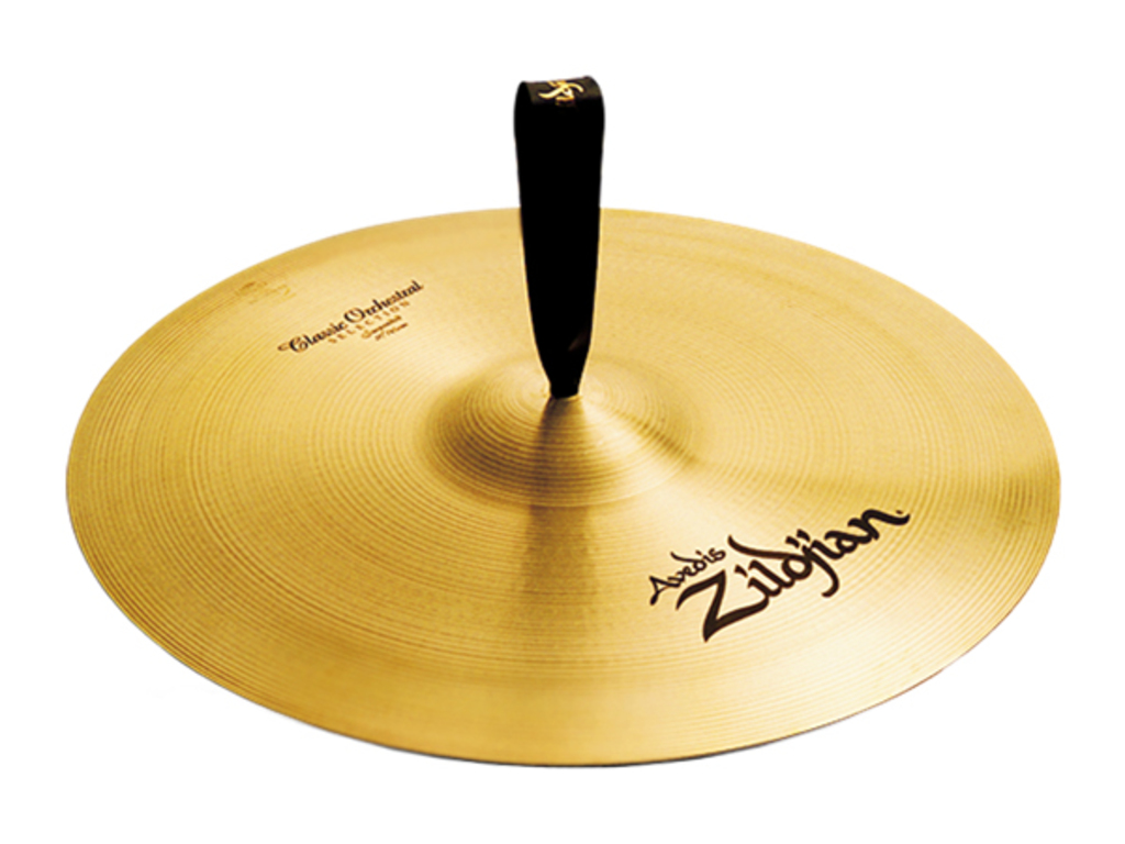Orkest Cymbal Zildjian A0421, A Zildjian, Classic Orchestral Selection Suspended, 20""