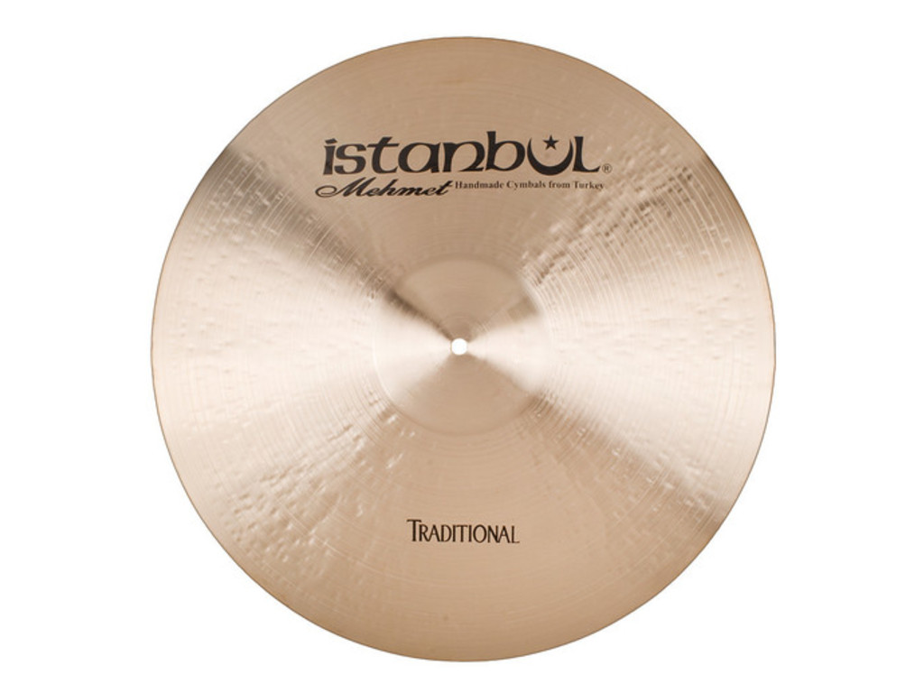 Ride Cymbal Istanbul Mehmet RCD22, Traditional Custom Dry, 22""