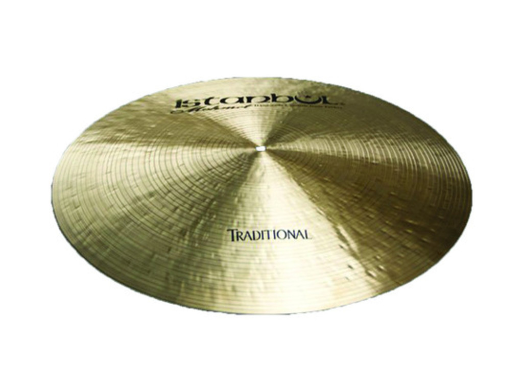 Ride Cymbal Istanbul Mehmet RF22, Traditional Flat, 22""