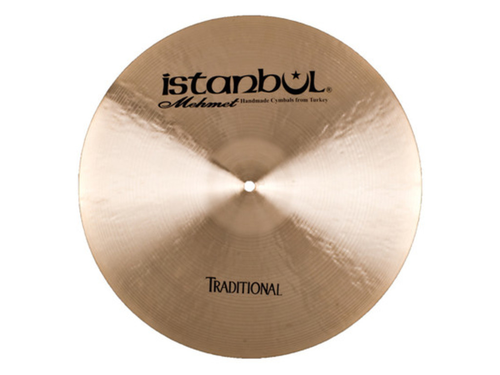Ride Cymbal Istanbul Mehmet RM19, Traditional Medium, 19""