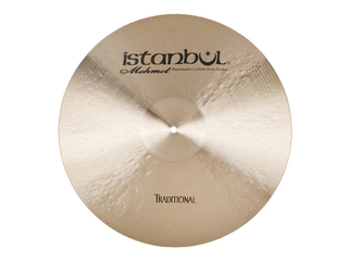 Ride Cymbal Istanbul Mehmet RM24, Traditional Medium, 24""
