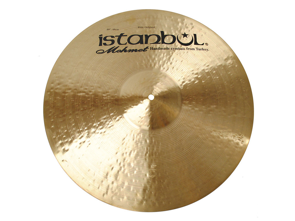 Ride Cymbal Istanbul Mehmet ROR19, Traditional Original, 19""
