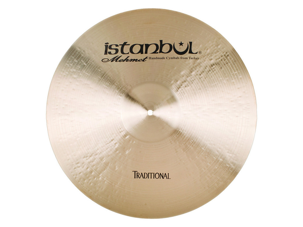 Ride Cymbal Istanbul Mehmet ROR21, Traditional Original, 21""