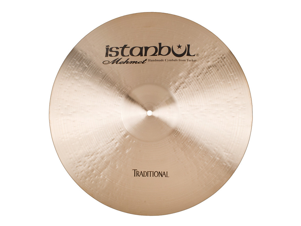 Ride Cymbal Istanbul Mehmet RP24, Traditional Ping, 24""