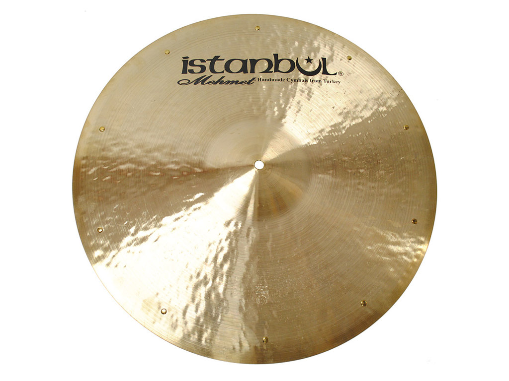 Ride Cymbal Istanbul Mehmet RSZ20, Traditional Flat, Ride met Sizzle, 20""