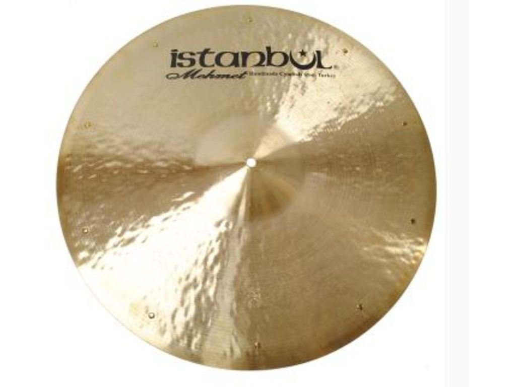 Ride Cymbal Istanbul Mehmet RSZ21, Traditional Flat, Ride met Sizzle, 21""