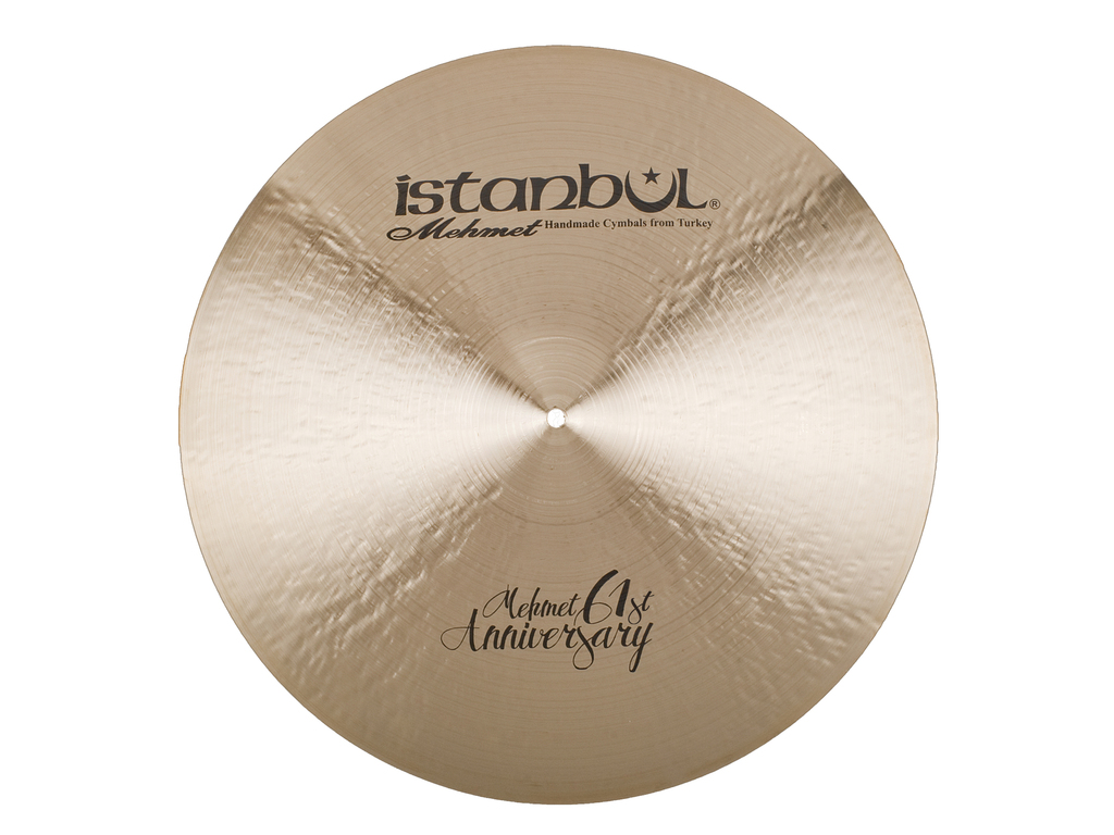 Ride Cymbal Istanbul Mehmet MT-AN-CLSZ20, Signature 61ST Anniversary, Classic, Ride met Sizzle, 20""