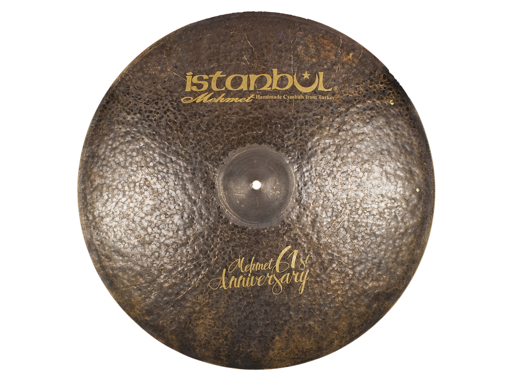 Ride Cymbal Istanbul Mehmet MT-AN-VRSZ22, Signature 61ST Anniversary, Vintage, Ride met Sizzle, 22""