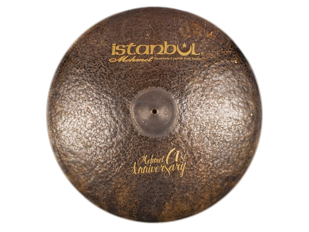 Ride Cymbal Istanbul Mehmet MT-AN-VR22, Signature 61ST Anniversary, Vintage, 22""