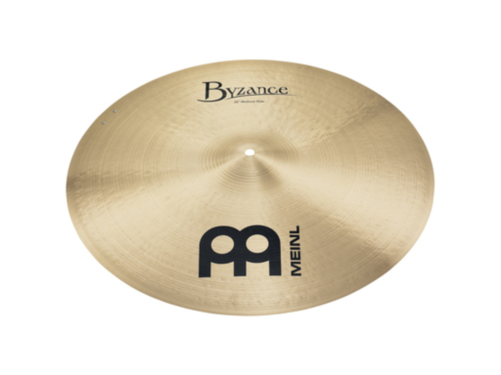 Ride Cymbal Meinl B20MR-S, Byzance Serie, Traditional, Medium, met Sizzle, 20""